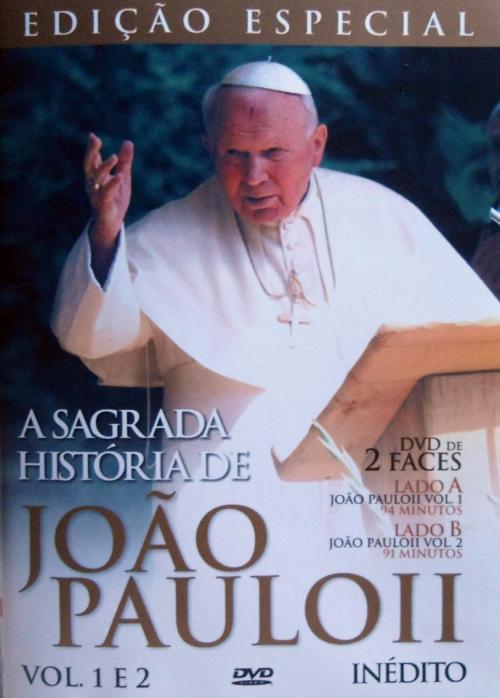 DVD A SAGRADA HISTÓRIA DE JOÃO PAULO II - VOL. 1 E 2