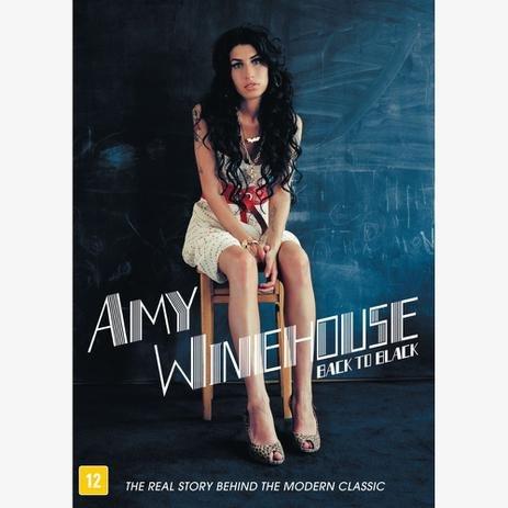 DVD AMY WINEHOUSE - BACK TO BLACK