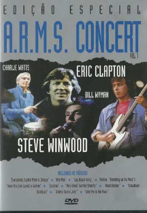 DVD A.R.M.S. CONCERT VOL 1 - EDIÇÃO ESPECIAL