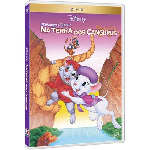 DVD BERNADO E BIANCA - NA TERRA DOS CANGURUS