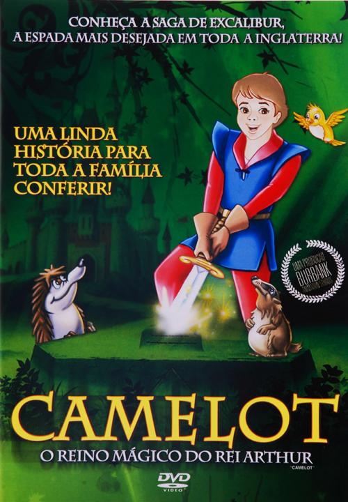 DVD CAMELOT - O REINO MÁGICO DO REI ARTHUR - ANIMAÇÃO