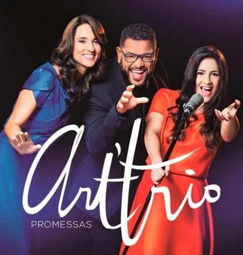 Dvd + Cd Art Trio - Promessas - Original Lacrado