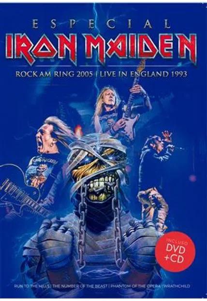 DVD+CD IRON MAIDEN - ESPECIAL