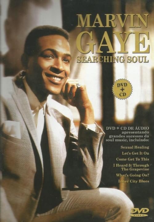 DVD + CD MARVIN GAYE - SEARCHING SOUL