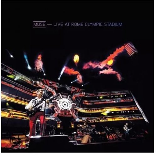 DVD+CD - MUSE - LIVE AT ROME OLYMPIC STADIUM