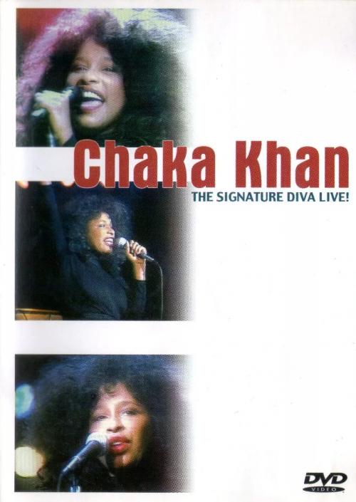 DVD CHAKA KHAN - THE SIGNATURE DIVA LIVE