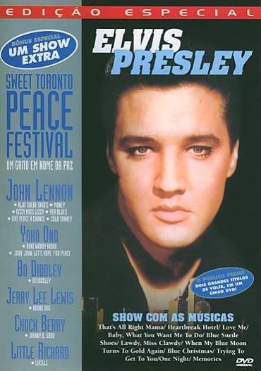 DVD ELVIS PRESLEY / JOHN LENNON - SWEET TORONTO PEACE FESTIVAL
