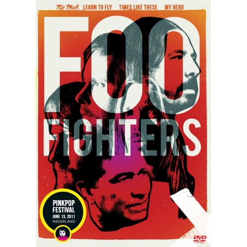 DVD FOO FIGHTERS -PINK POP FESTIVAL 2011