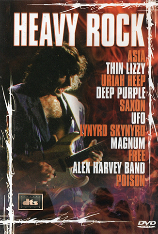 DVD HEAVY ROCK - VARIOS