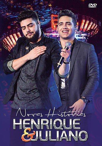 DVD HENRIQUE & JULIANO - NOVAS HISTORIAS - AO VIVO EM RECIFE