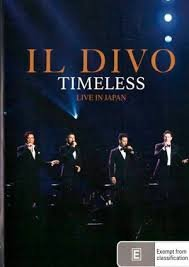 DVD IL DIVO - TIMELESS LIVE IN JAPAN