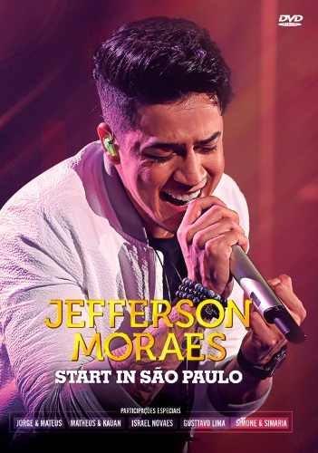 Dvd Jefferson Moraes - Start Em São Paulo - Original/lacrado