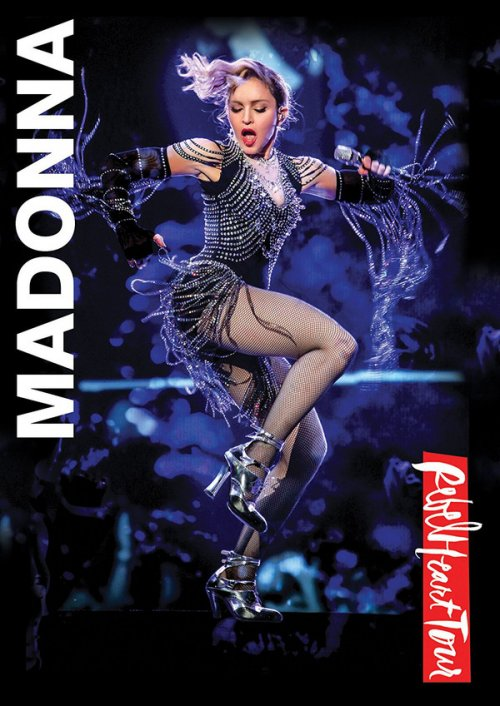 DVD MADONNA - REBEL HEART TOUR