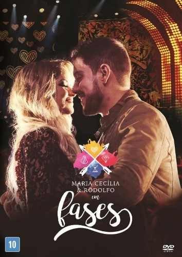 DVD Maria Cecília & Rodolfo - Em Fases