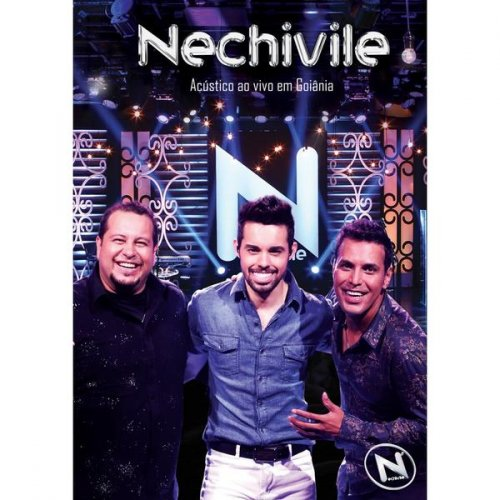 DVD NECHIVILE -  ACÚSTICO  AO VIVO EM GOIANIA (2016)