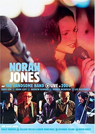 DVD NORAH JONES AND THE HANDSOME BAND - LIVE IN 2004