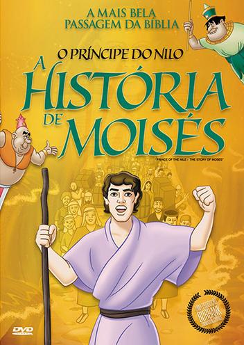 DVD O PRÍNCIPE DO NILO - A HISTÓRIA DE MOISÉS - ANIMAÇÃO