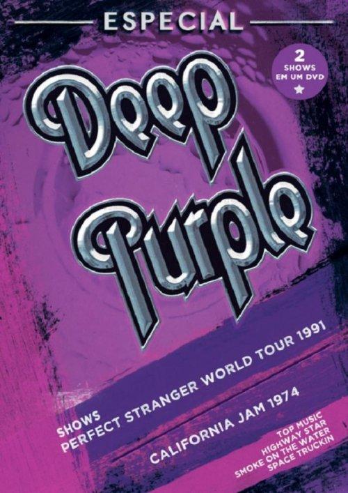 DVD PERFECT STRANGER TOUR 1991 - CALIFORNIA JAM 1974 - DEEP PURPLE