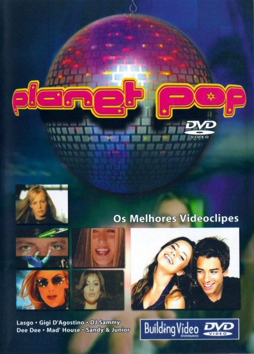 DVD PLANET POP - VOL 1 OS MELHORES VIDEOCLIPES