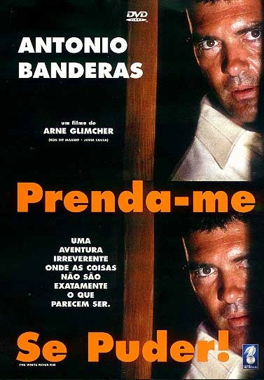 DVD PRENDA-ME SE PUDER (ANTONIO BANDERAS) - FILME