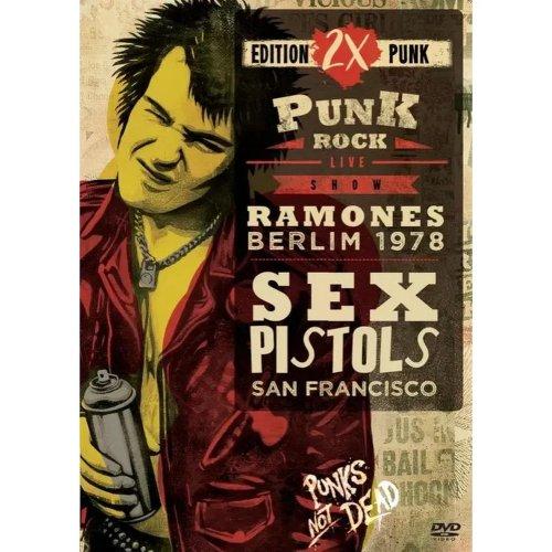 DVD RAMONES & SEX PISTOLS - PUNK ROCK