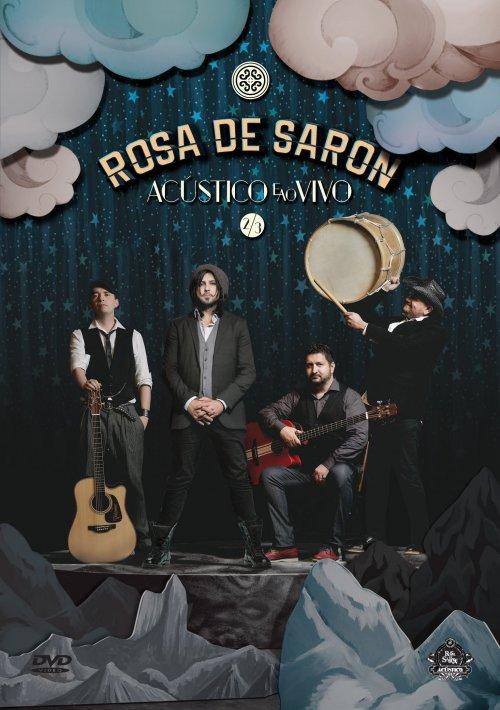 DVD ROSA DE SARON - ACUSTICO E AO VIVO 2/3