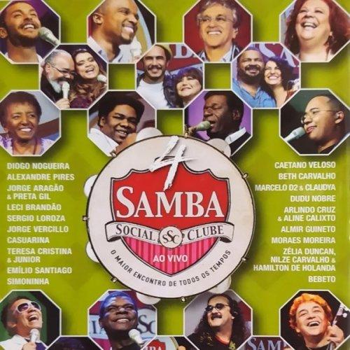 DVD SAMBA SOCIAL CLUBE 4 - AO VIVO
