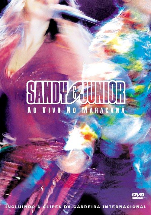 DVD Sandy e Júnior - Ao Vivo No Maracanã