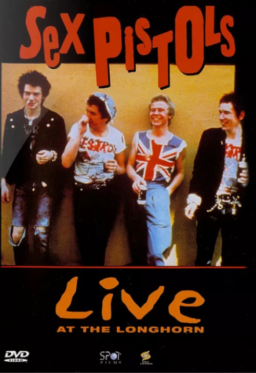 DVD SEX PISTOLS - LIVE AT THE LONGHORN