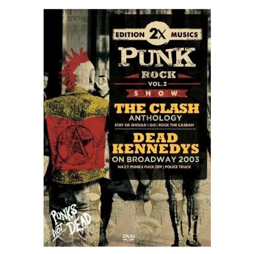 DVD THE CLASH & DEAD KENNEDYS  - PUNK ROCK VOL. 02