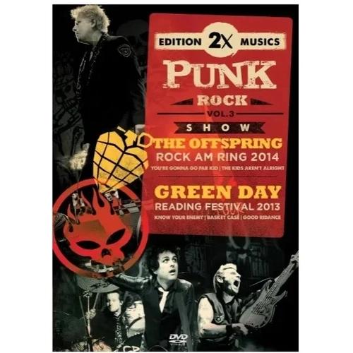 DVD THE OFFSPRING  & GREENDAY - PUNK ROCK VOL. 03
