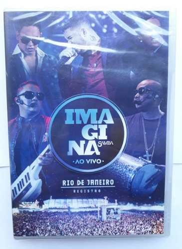 DVD IMAGINASAMBA - AO VIVO - RIO DE JANEIRO