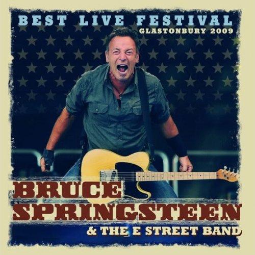 LP VINIL BRUCE SPRINGSTEEN & THE E STREET BAND - BEST LIVE FESTIVAL GLASTONBURY 2009