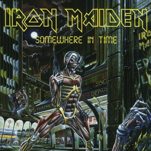 LP VINIL IRON MAIDEN - SOMEWHERE IN TIME - IMPORTADO