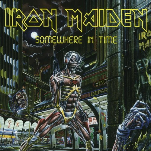 LP VINIL IRON MAIDEN - SOMEWHERE IN TIME - IMPORTADO