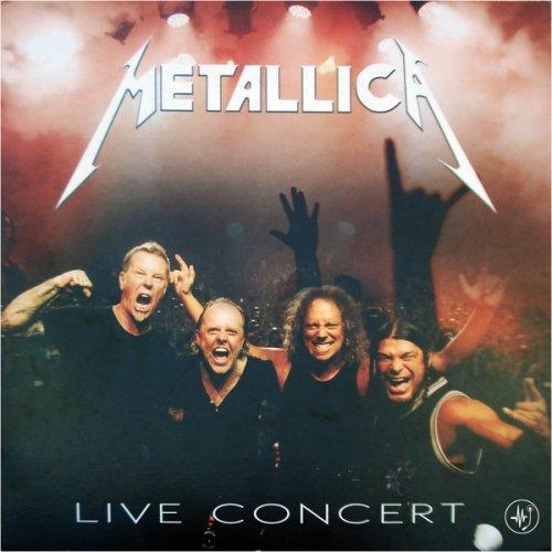 LP VINIL METALLICA - LIVE IN CONCERT