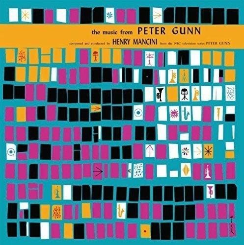 LP VINIL - MUSIC FROM PETER GUNN BY HENRY MANCINI