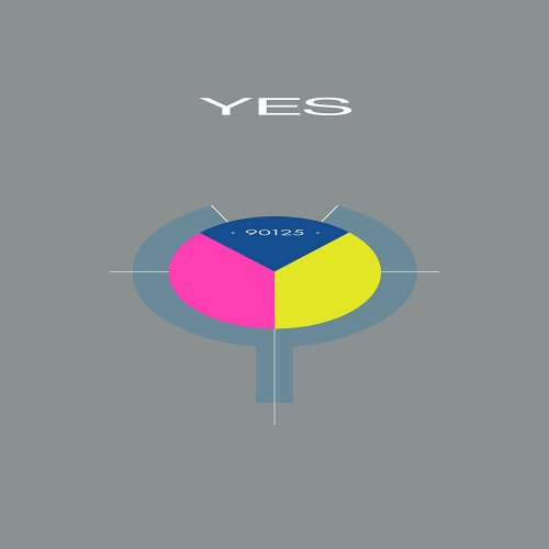 LP VINIL YES - 90125 - IMPORTADO  TRI-COLOR EDITION 35TH ANNIVERSARY