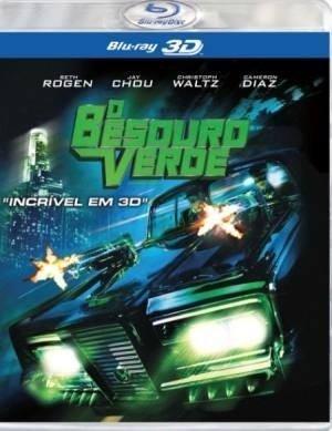 O Besouro Verde - Blu-ray Em 3d Original/lacrado