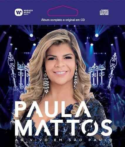 Paula Mattos - Ao Vivo Em São Paulo - Epack (cd)