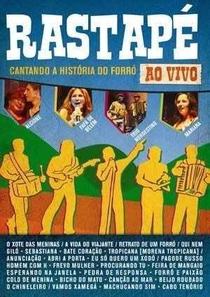 Rastapé - Cantando A História Do Forró - Ao Vivo Dvd Origi