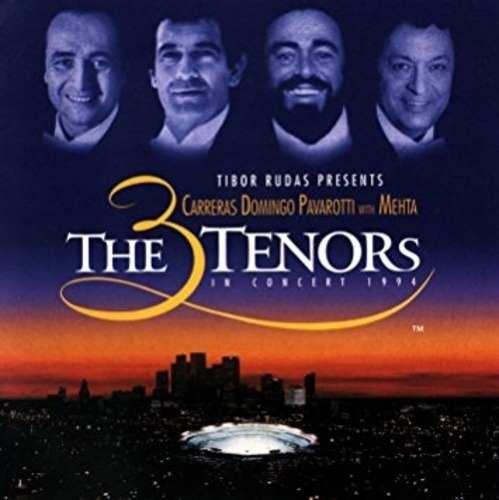 The 3 Tenors -in Concert 1994 Carreras Domingo Pavatorri Mehta