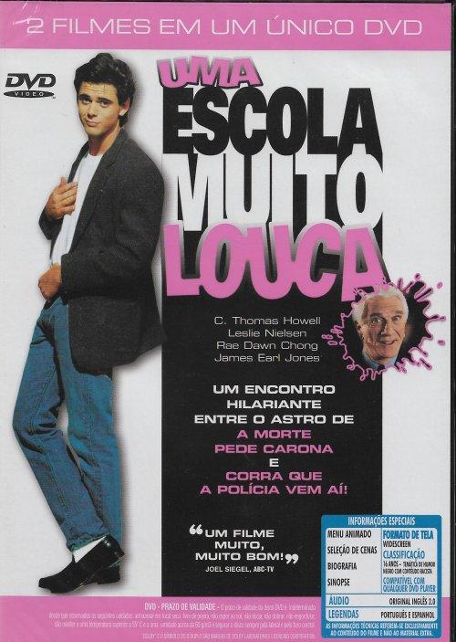 UMA ESCOLA MUITO LOUCA e DEUS CRIOU A MULHER - 2 FILMES EM UM ÚNICO DVD - ORIGINAL LACRADO