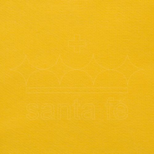 Feltro Liso Santa Fé - Amarelo Canário - Cor 080