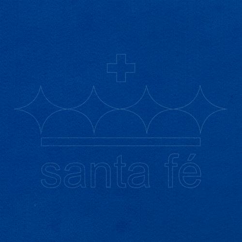 Feltro Liso Santa Fé - Azul Anil - Cor 042