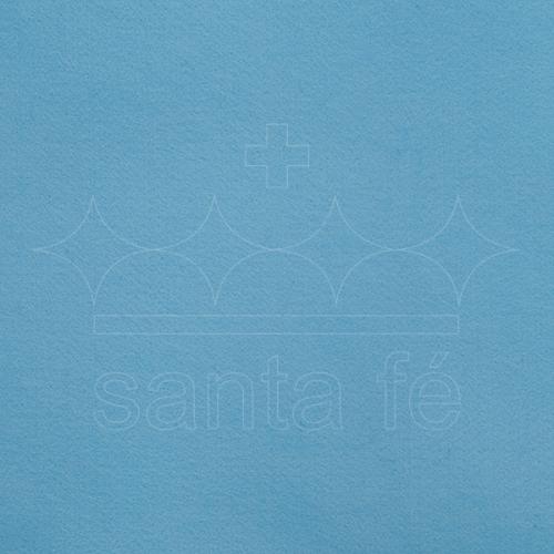 Feltro Liso Santa Fé - Azul Baby - Cor 093