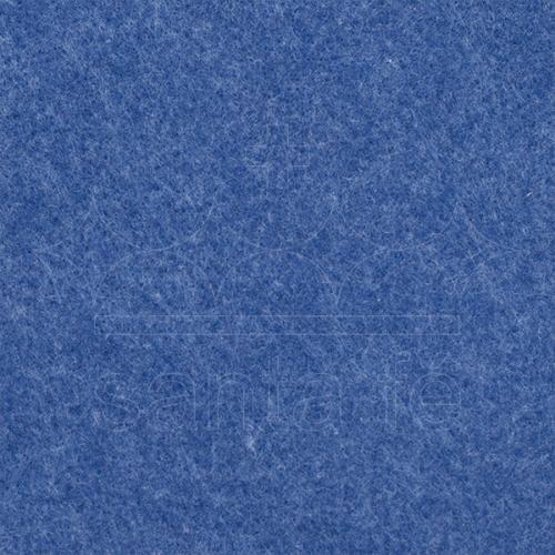 Feltro Liso Santa Fé - Azul Mescla - Cor 163