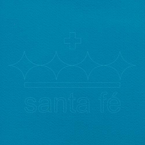 Feltro Liso Santa Fé - Azul Turquesa - Cor 028
