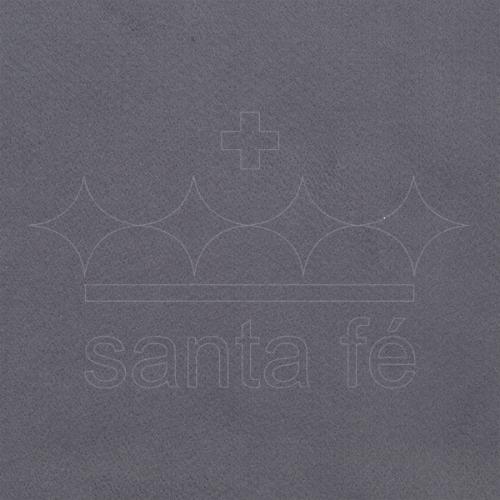 Feltro Liso Santa Fé - Cinza Escuro - Cor 038