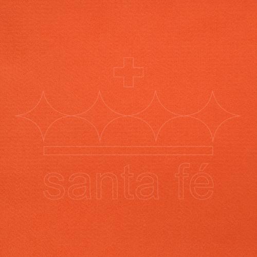 Feltro Liso Santa Fé - Laranja - Cor 013